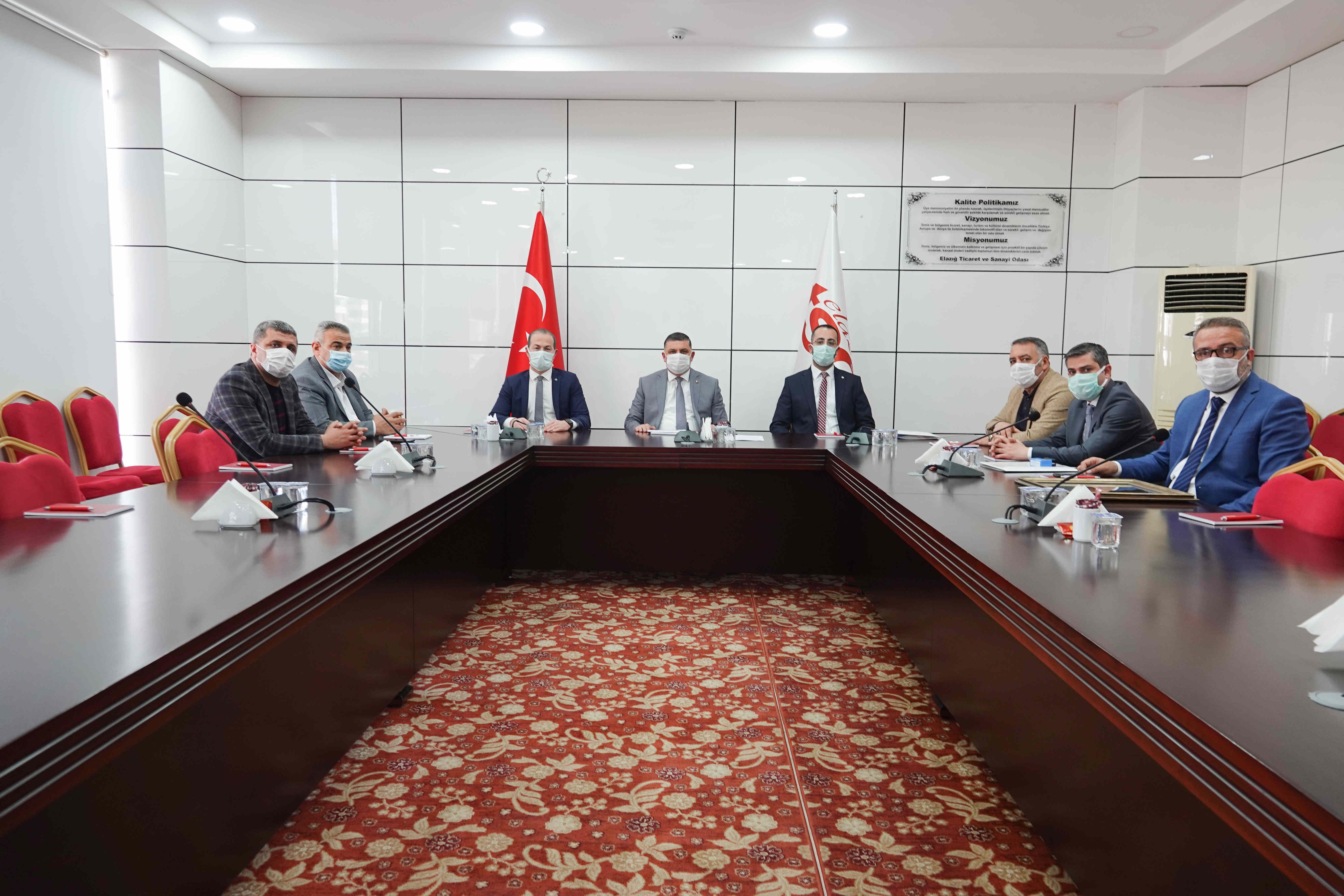 Elazığ TSO İle Vakıf Katılım Bankası Arasında Protokol İmzalandı…