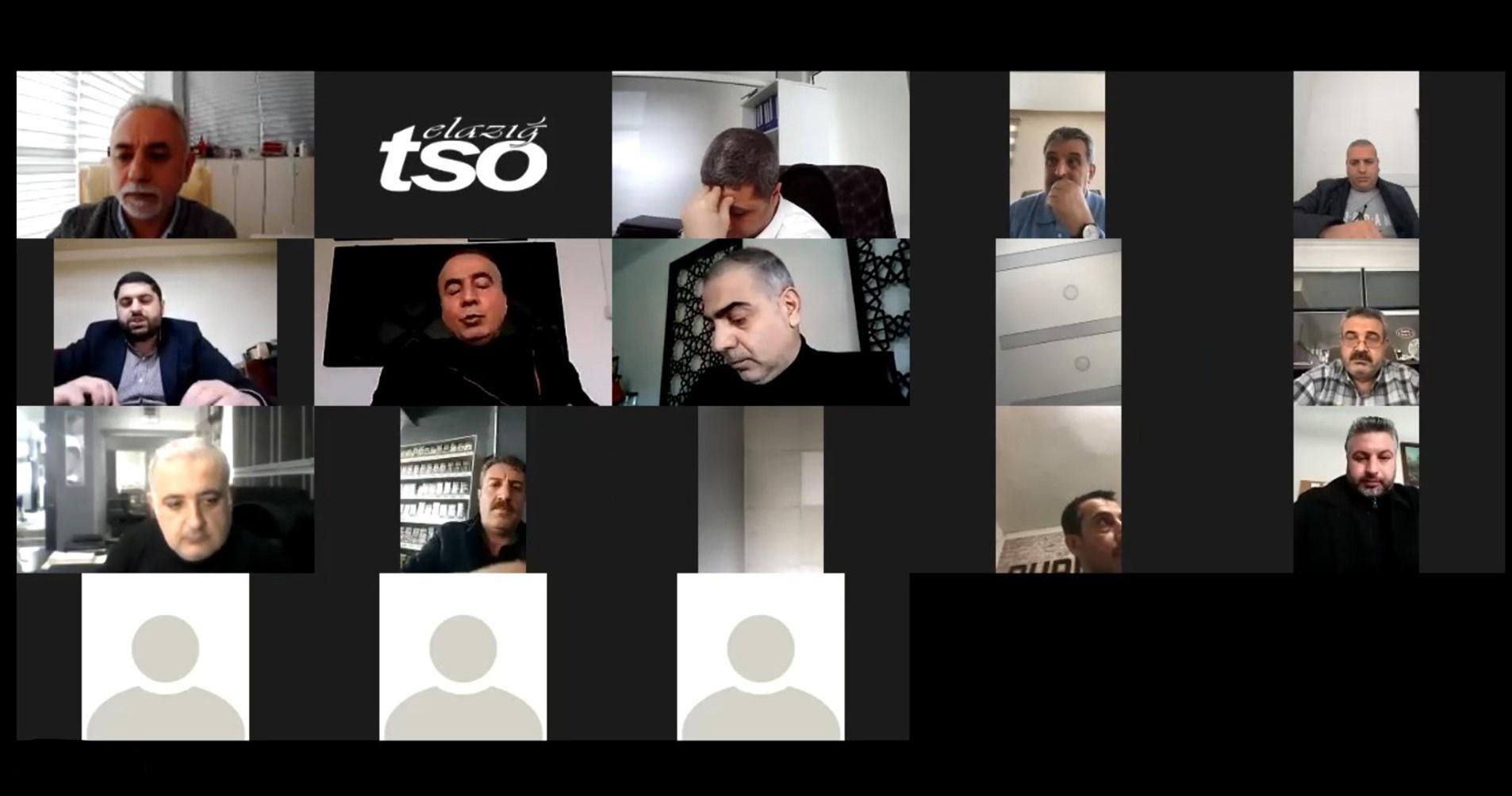 Elazığ TSO Meslek Komiteleri 2021 Yılı Hedefleri Belirlendi