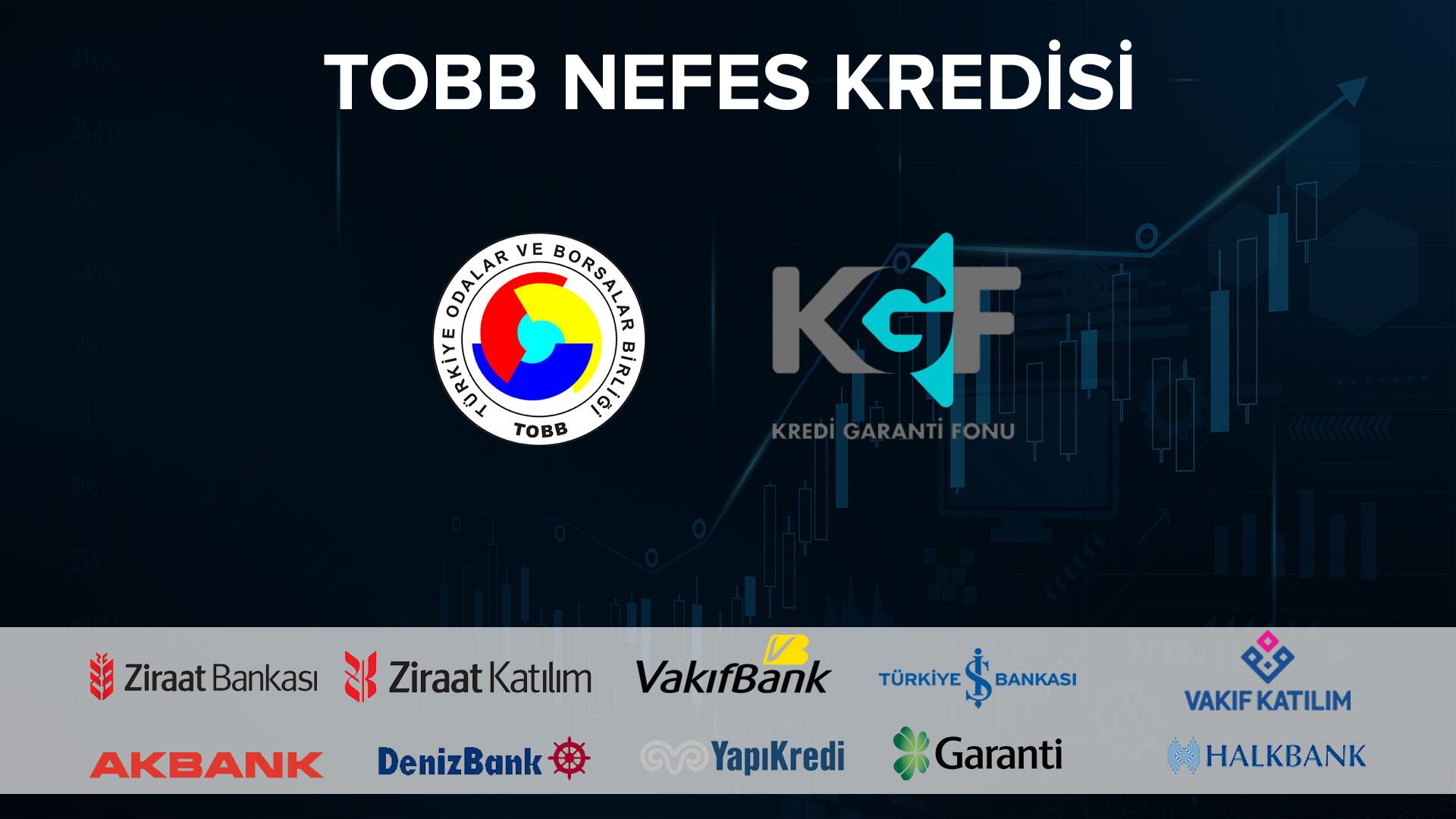 TOBB Nefes Kredisi 2021 Başvuruları Başladı