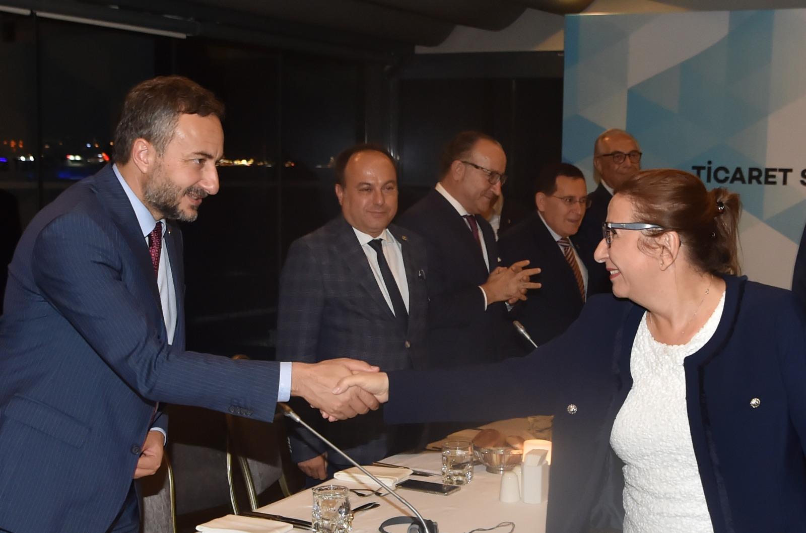 Ticaret Bakanı Pekcan ile görüşen Başkan Arslan: GÜMRÜK BİRLİĞİ'NDE REVİZYONA İHTİYAÇ VAR