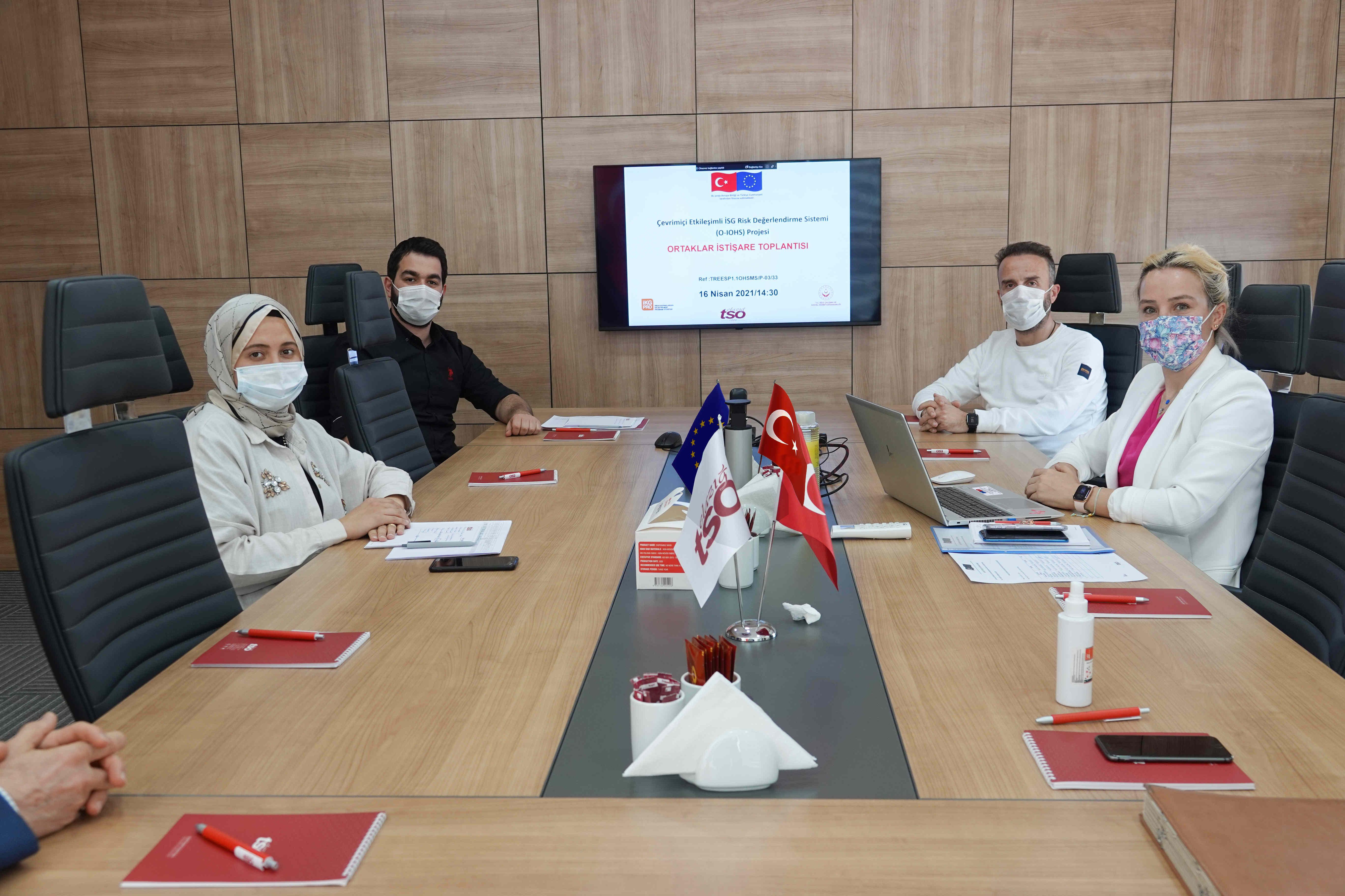 AB Proje Ortakları İstişare Toplantısı Gerçekleştirildi.