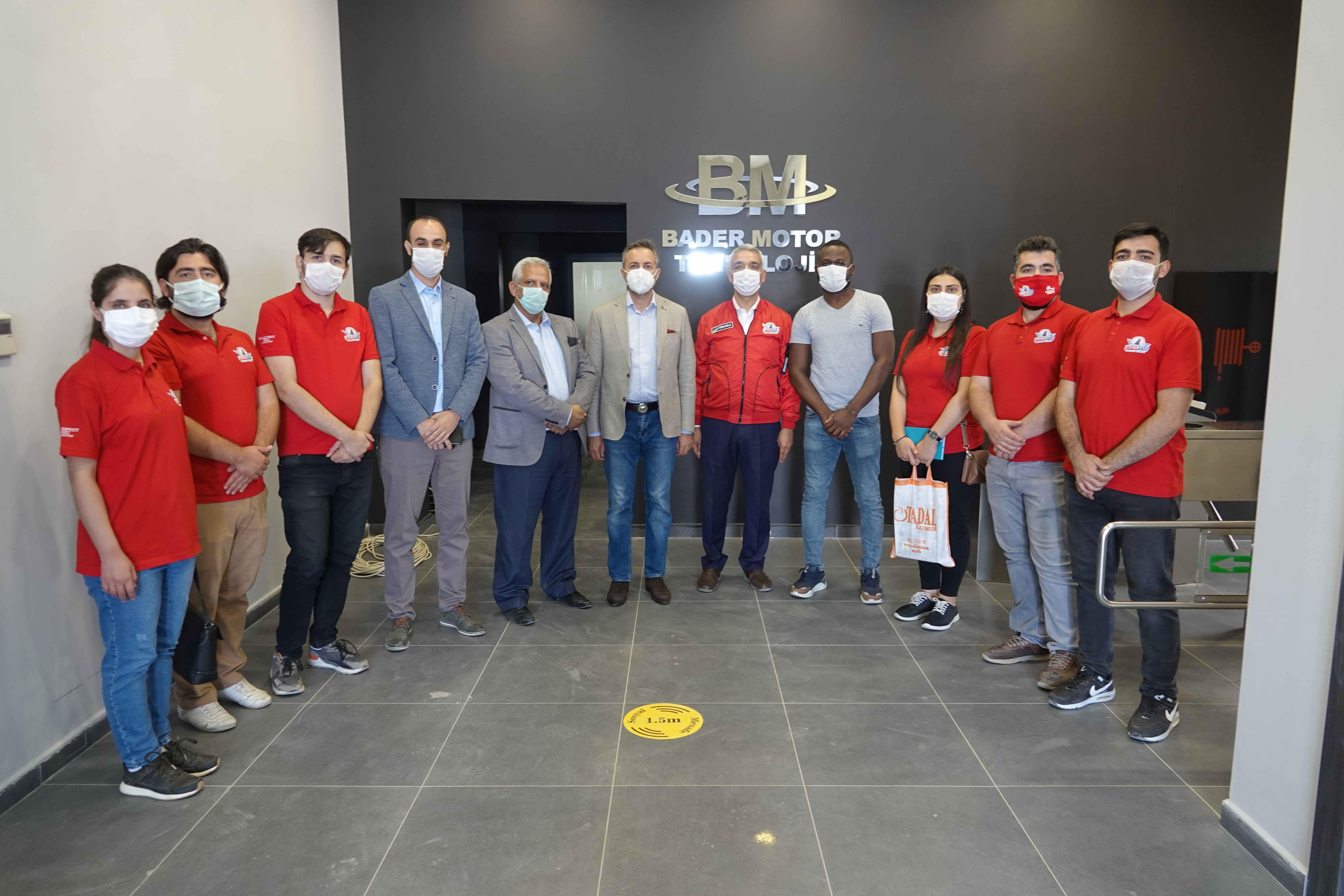 TEKNOFEST Türkiye Birincisi Öğrencilerle OSB Programı
