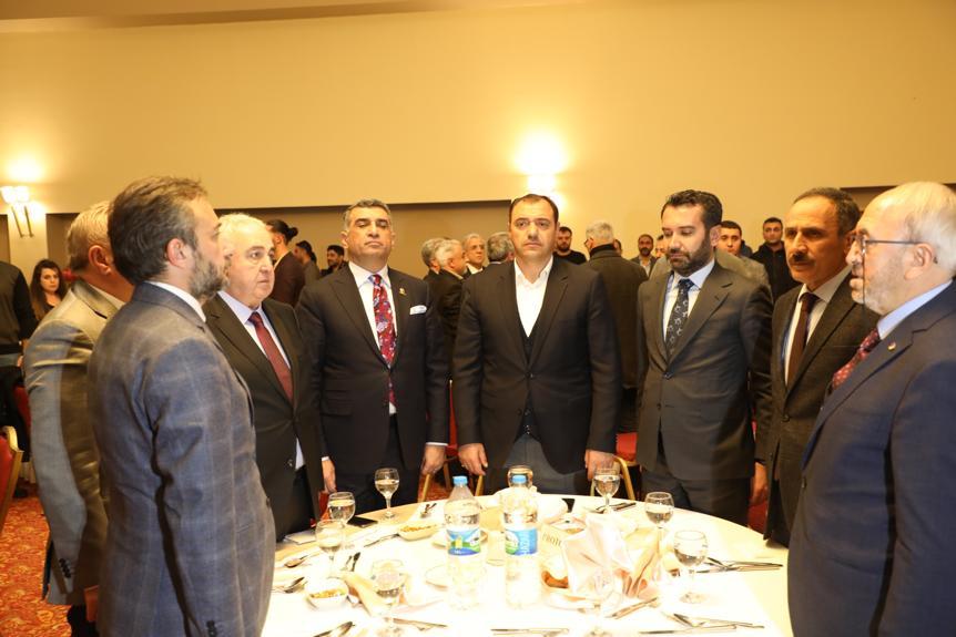Elazığ'da 10 Ocak Çalışan Gazeteciler Günü Programı düzenlendi.