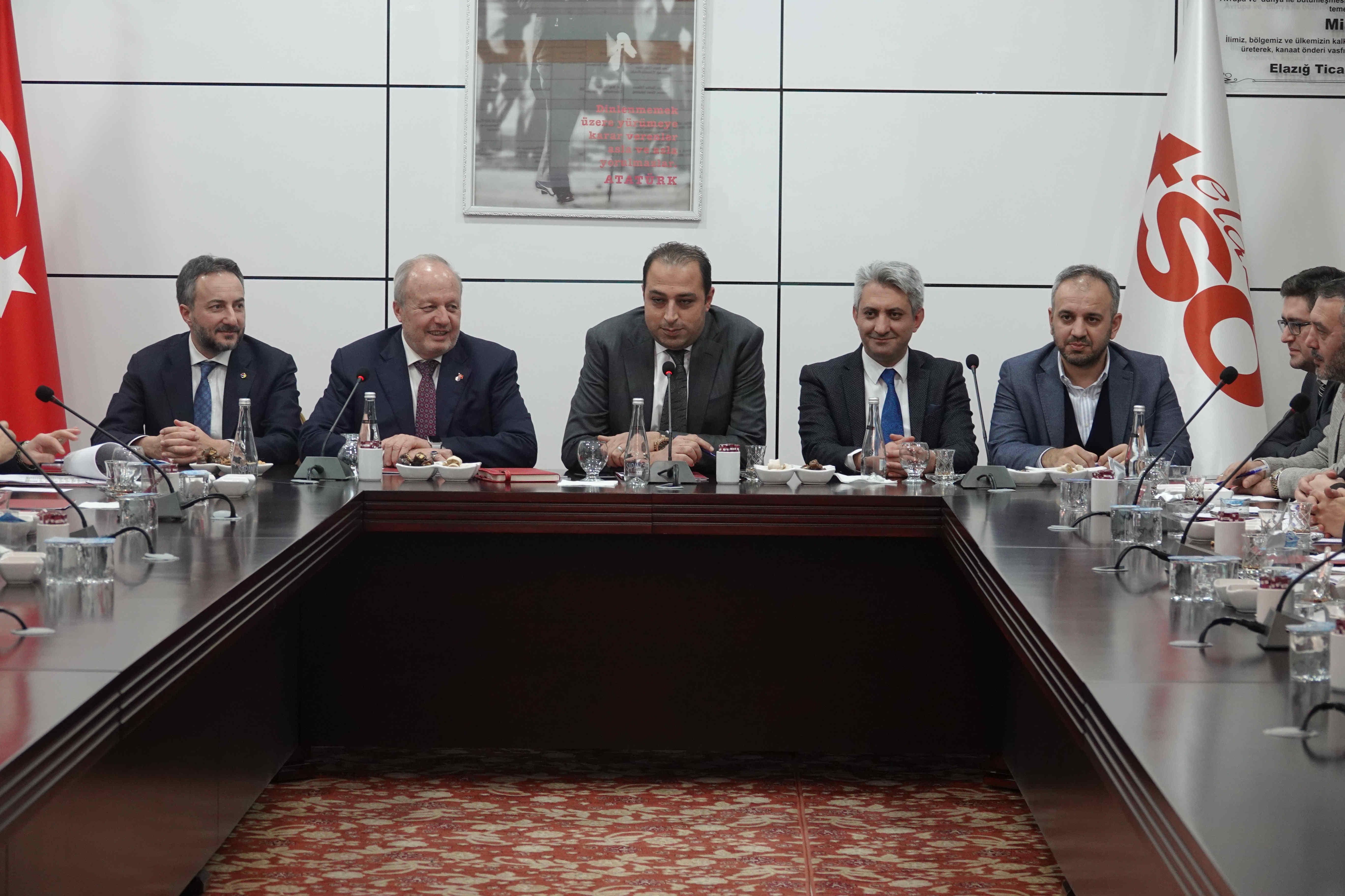 Elazığ TSO 2020 yılı ilk Meclis Toplantısı Yapıldı
