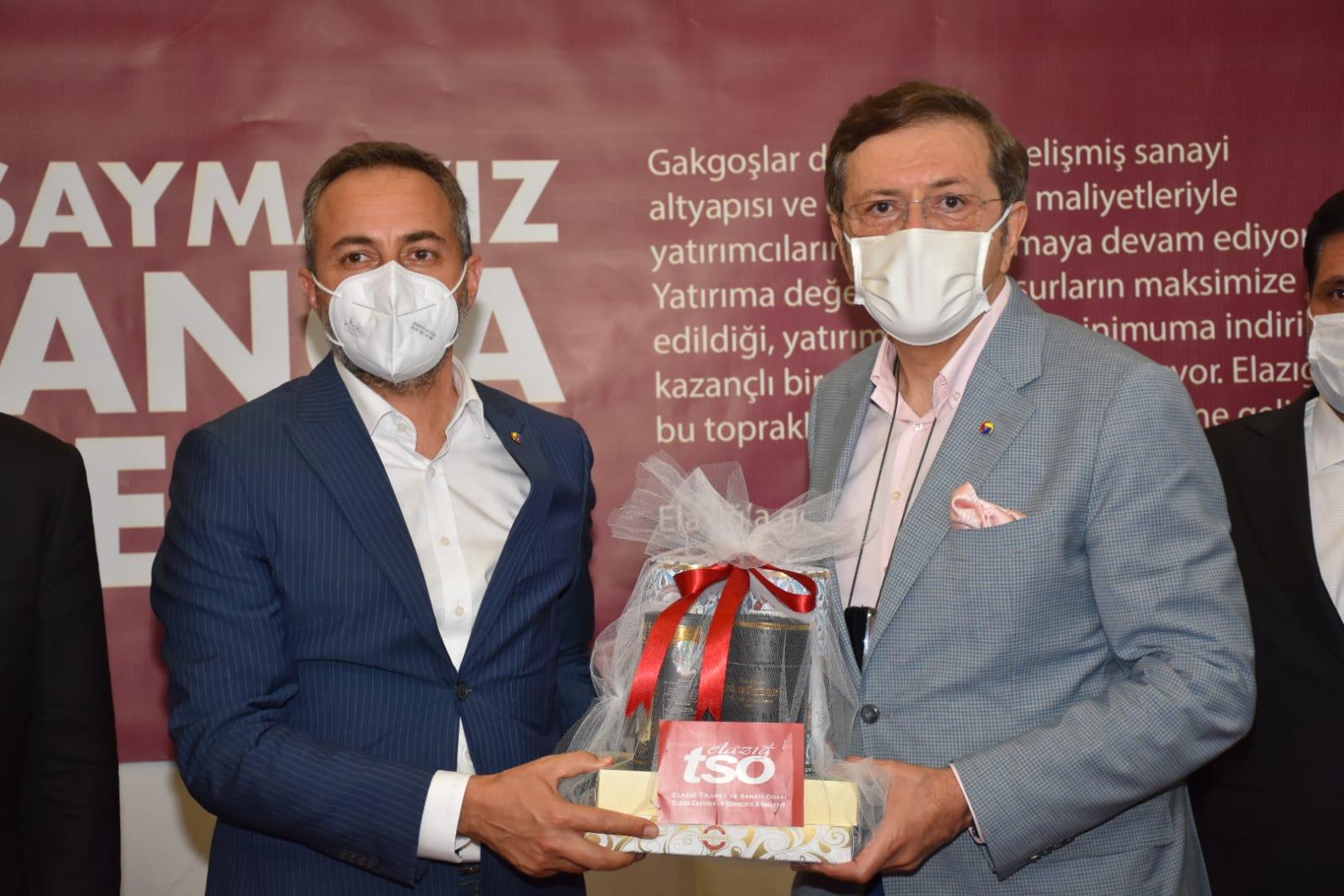 Elazığ TSO, Şanlıurfa Bölgesel Kalkınma, Yatırım, İşbirliği Forum ve Fuarı'nda Elazığ'ı Temsil Etti…