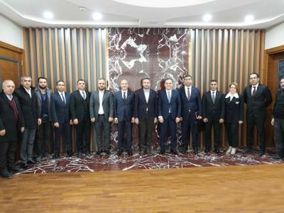 HALK BANKASI HEYETİYLE İSTİŞARE TOPLANTISI a
