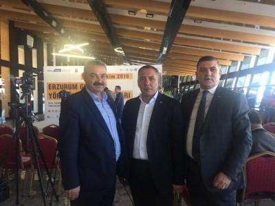 Elazığ TSO Heyeti Erzurum Gıda ve Yöresel Lezzetler Fuarına Katıldı… a