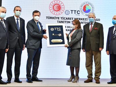 """Şikago """"Türkiye Ticaret Merkezi"""" Açılışı Yapıldı a"""