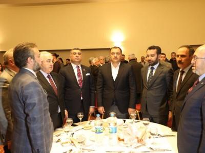 Elazığ'da 10 Ocak Çalışan Gazeteciler Günü Programı düzenlendi. a