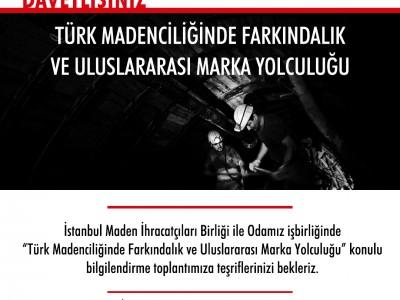 Başkan Arslan; Türk Madenciliğinde Farkındalık Ve Uluslararası Marka Yolculuğu Toplantısı İlimiz Madenciliği İçin Son Derece Önemli a