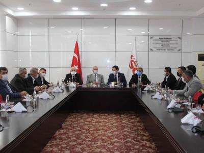 İYİ Parti Milletvekilleri Elazığ TSO'yu Ziyaret Etti a