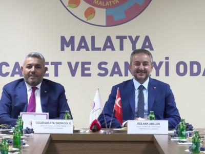 "Elazığ TSO ile Malatya TSO arasında ""Kardeş Oda Protokolü"" imzalandı… a"