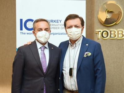 Başkan Arslan, ICC Türkiye Milli Komitesi Genel Kurulu Toplantısına katıldı… a
