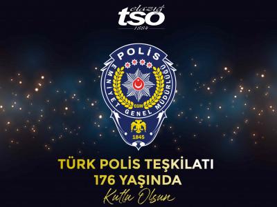 Polis Teşkilatının 176'ıncı Yılı Kutlu Olsun… a