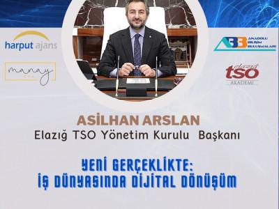 """Anadolu Bilişim Buluşmaları """"Yeni Gerçeklikte: İş Dünyasında Dijital Dönüşüm"""" webinarı a"""