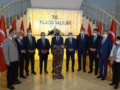 """Cumhurbaşkanlığı Savunma Sanayi Başkanlığından Elazığ'a çıkarma: """"Elazığ Buluşma Toplantısı"""" a"""