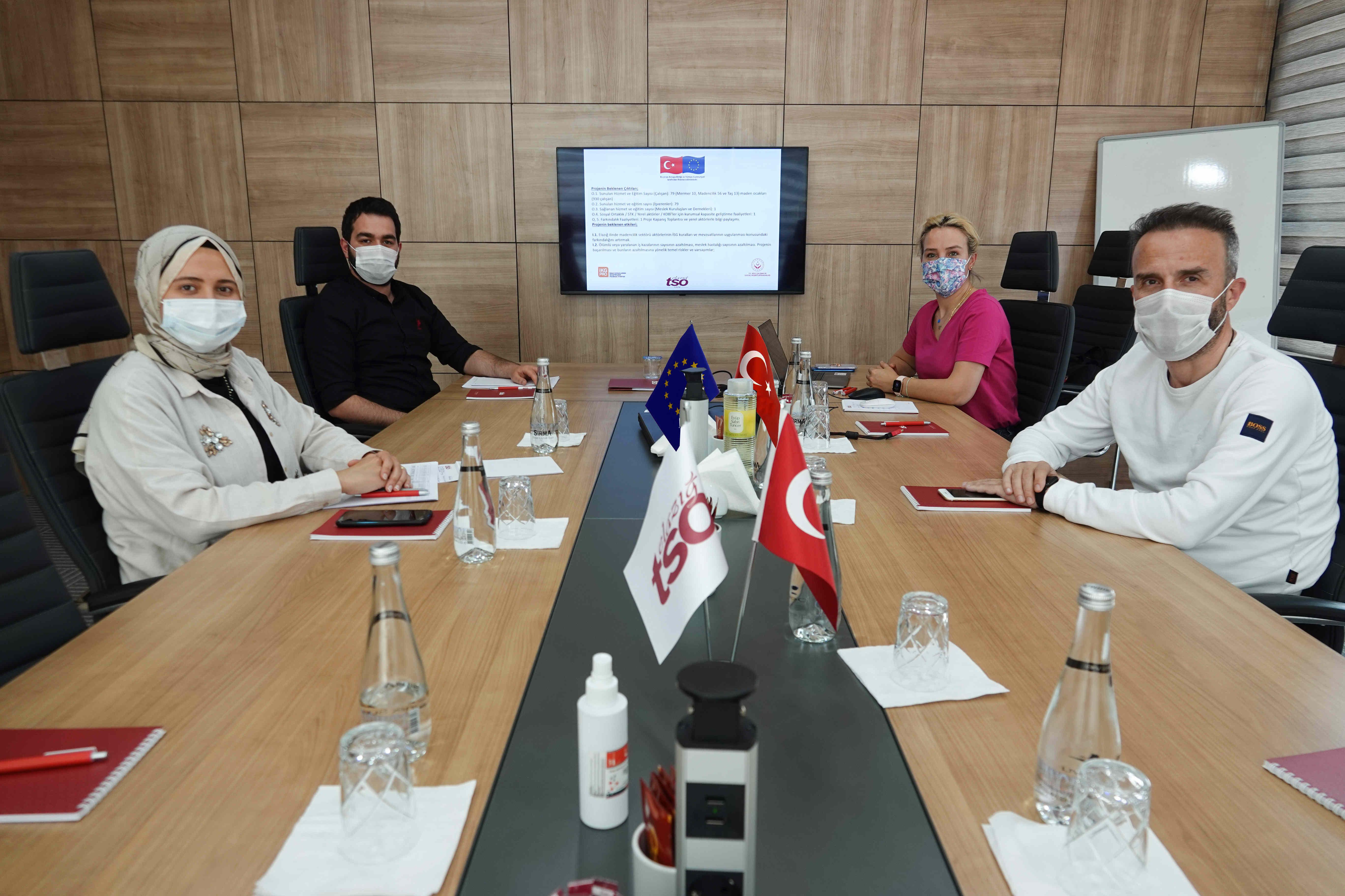 AB Proje Ekibi Toplantısı Gerçekleştirildi.